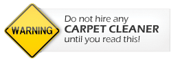 Beware of Bati and Switch Carpet Cleaners